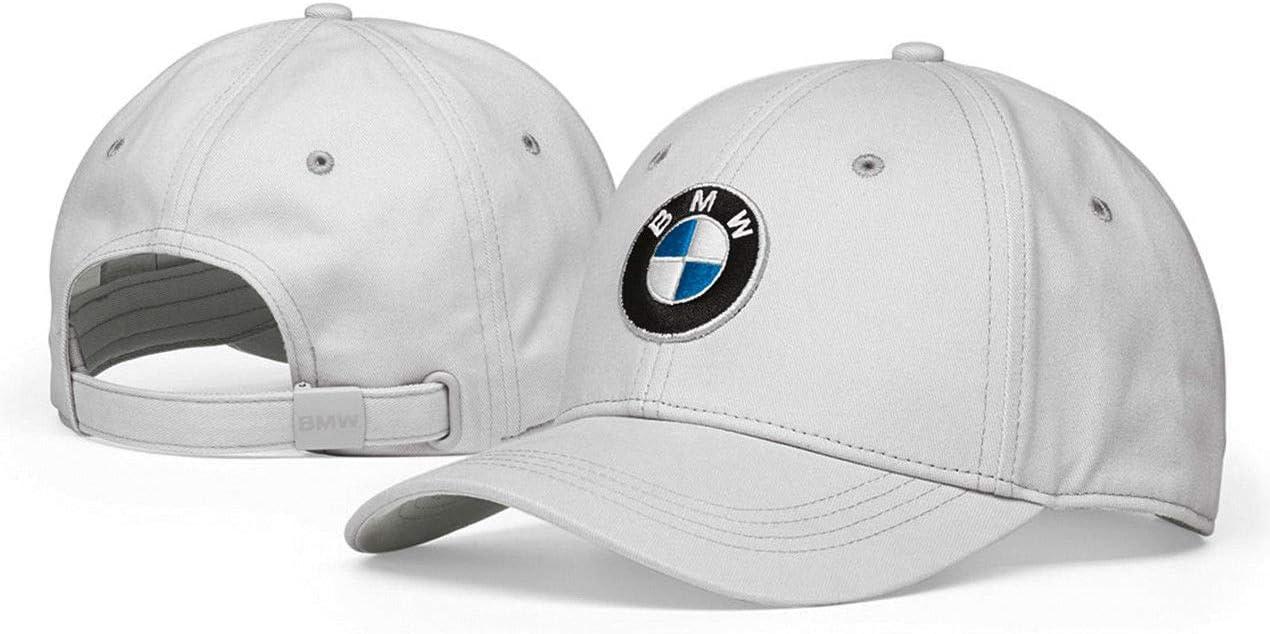BMW Original Colección Lifestyle Logo Gorra de Béisbol Gris ...