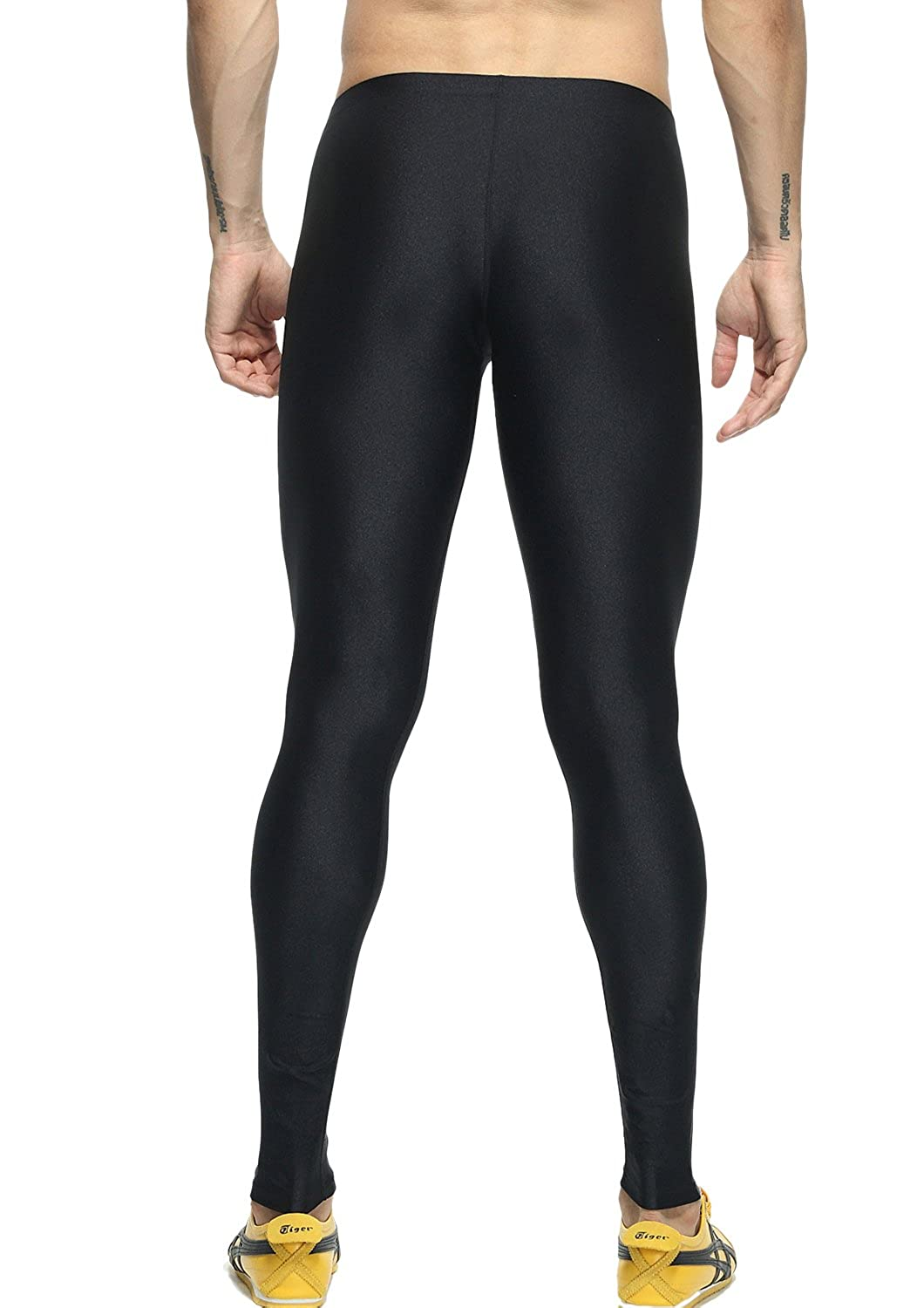 Minaso Mens Sports Tight Leggings for Gym Workout Running Tights