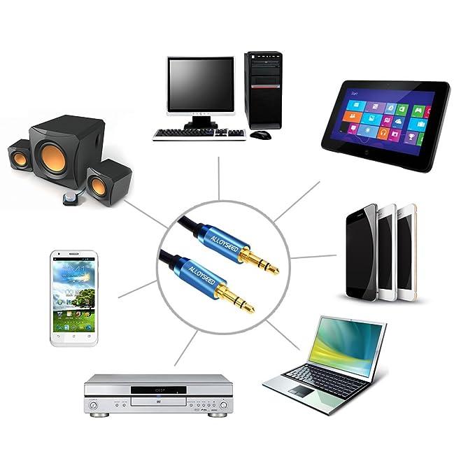 Cable de Audio Demiawkaing ALLOYSEED Cable de Audio Libre de ...