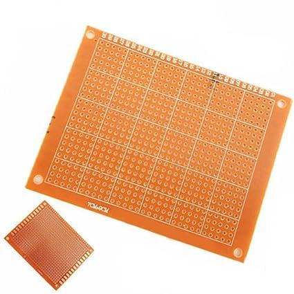 5PCS DIY Prototype Paper PCB Universal 7 x 9 cm Board New