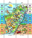 Israel Stamps Israel Trail 2013 Collection Album Philately Hiking MNH