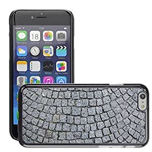 """Hot Style Cell Phone PC Hard Case Cover // M00170414 Cobblestones Patch Road Background // Apple iPhone 6 4.7"""""""