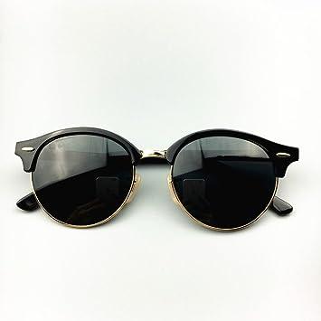 Klassische Retro Sonnenbrille Halbrund Glas Sonnenbrille Männer Und Frauen Paar Modelle Sonnenbrillen,A1