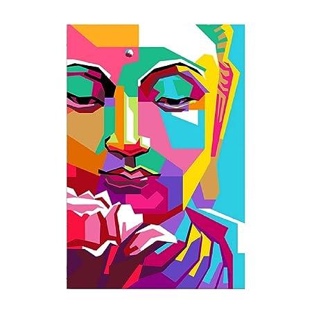w15Y8 Mural de la Estatua de Buda - Imagen - Foto Resumen ...