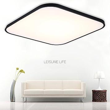 FLOUREON 24 ~ 29.5 Inch Ultra-thin Flush Mount LED Ceiling Light ...