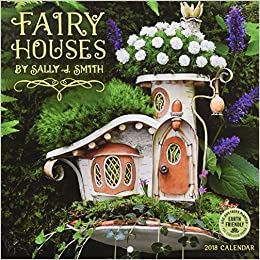 fairy houses 2018 mini wall calendar
