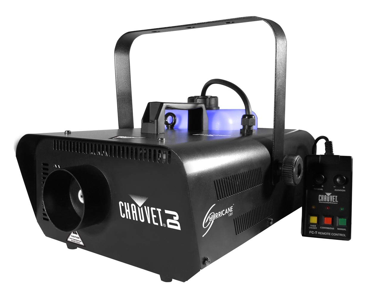 Chauvet Hurricane 1301 H1301 Pro Smoke Fog Machine Fogger w/ FC-T Wired Remote