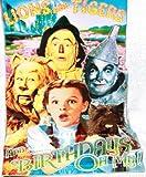 Wizard Of Oz Birthday Card 3D