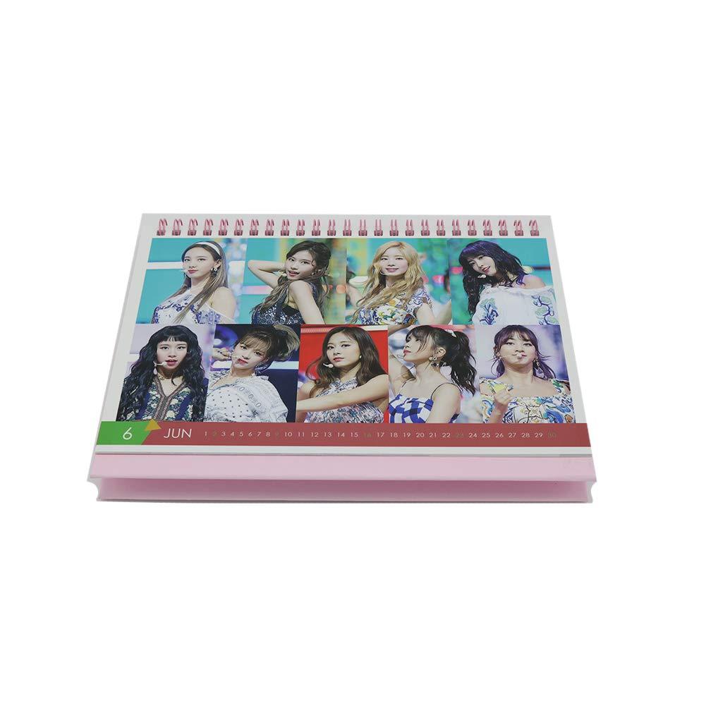 Twice 2019 Desk Photo Calendar with Post Card