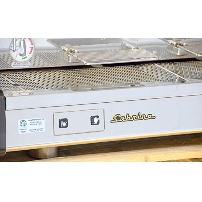 Amazon.com: Astoria Sabrina Electronic Automatic 2 Group Espresso Machine SAE: Kitchen & Dining