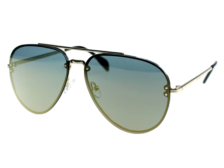 caee4efde1ca Amazon.com  Celine Mirror CL 41391 J5G MV Gold Metal Aviator Sunglasses   Clothing