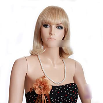 rinka hairdo short blond hair wig japanese hair wig for young women miss wig    2eb515181