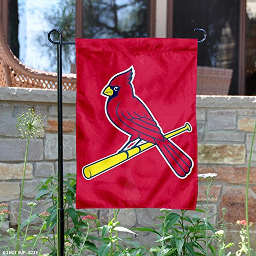 MLB St. Louis Cardinals Sports Team Logo Garden/Window Flag 15