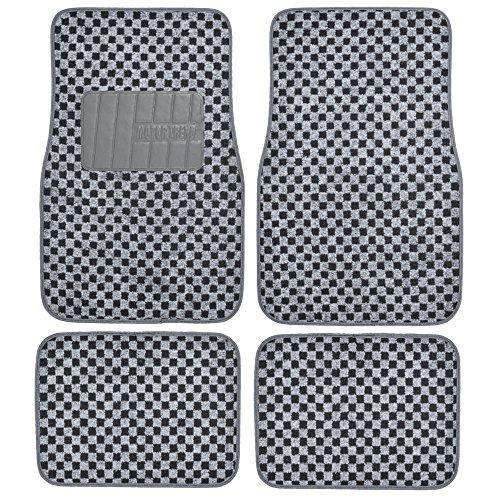 Bdk Checkered Style Print Gray Bdk Checkered Style