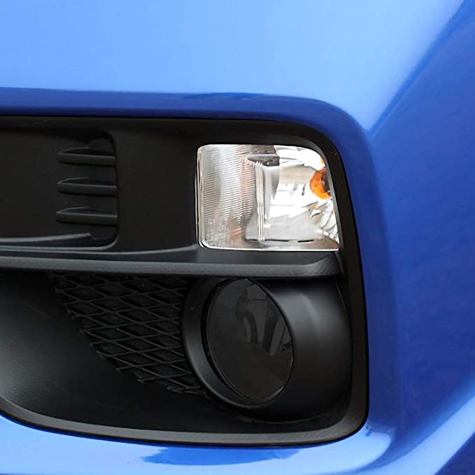 Dark Smoke Bogar Tech Designs Fog Light Tint Kit Compatible with and Fits Subaru WRX//STI 2015-2020