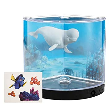 Amazon.com : Finding Dory Betta Tank with LED Light, 0.3 Gal / 1.14 L : Pet Supplies