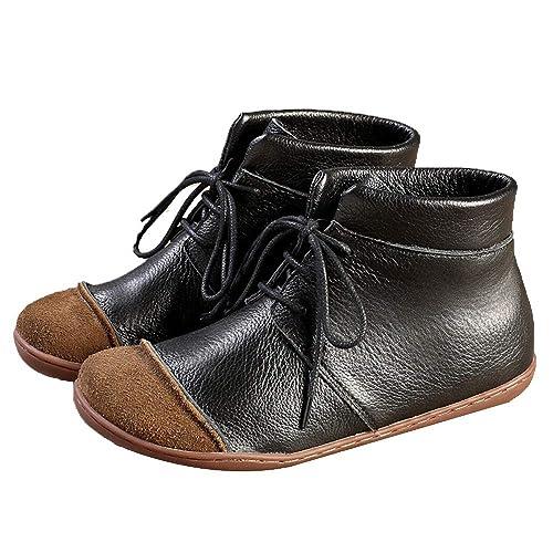 Mujer Mocasines De Cuero Moda Loafers Casuales Suave Ocio Pisos Mocasines,Black-40: Amazon.es: Zapatos y complementos