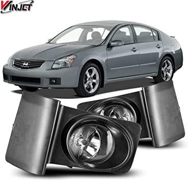 WINJET FITS 08-10 NISSAN ROGUE FOG LIGHT LAMP CLEAR WIRING SWITCH BULBS INCLUDED