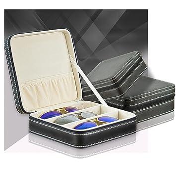 Gläser Aufbewahrungsboxen portable 3 gitter gläser tasche sonnenbrille box männer und frauen