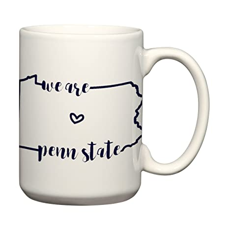 f9aedca01 Image Unavailable. Image not available for. Color: We Are Penn State Mug  Pennsylvania Coffee Mug PSU Nittany Lions University ...