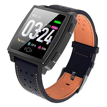 Hffan Smartwatch Reloj Deportivo Actividad Ritmo Cardíaco Reloj de ...