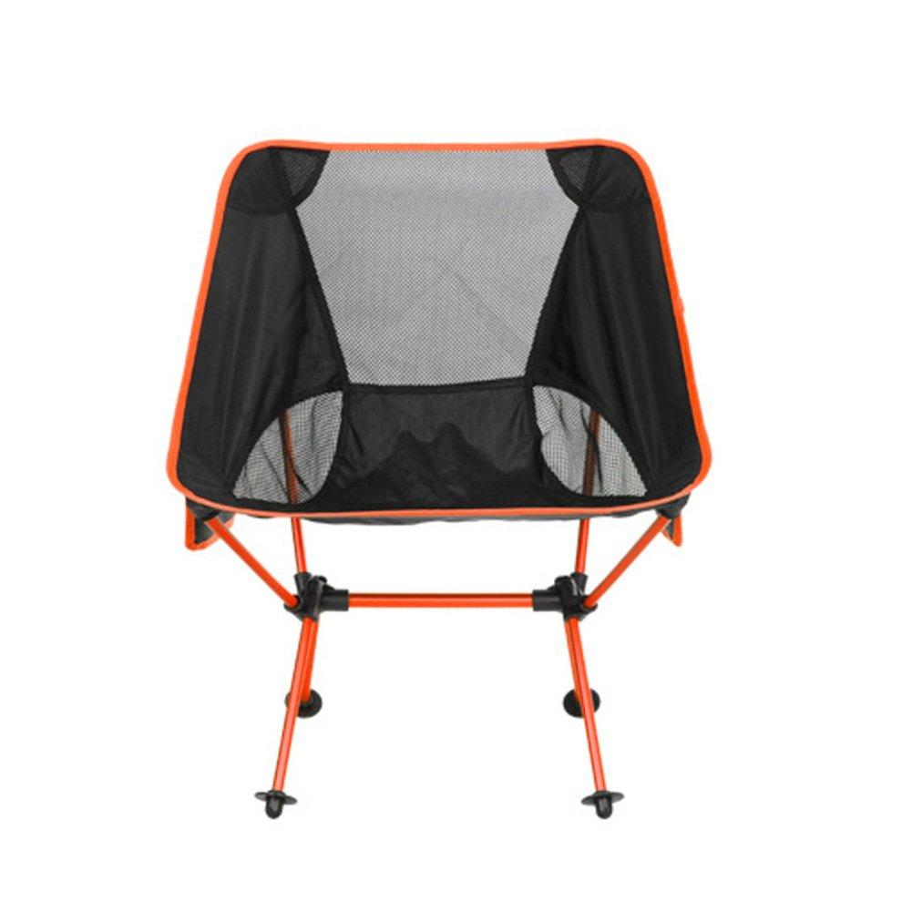 ZDYYCNC Zusammenklappbar Campingstuhl,Ultraleichte 330lbs Kompakt Atmungsaktive Tragbarer Im Freien Grill Wandern Reise