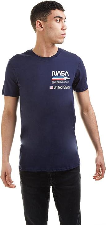 Nasa Plane Aeronautics Camiseta para Hombre
