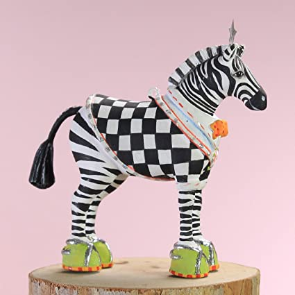 patience brewster christmas home decor mini zeke zebra ornament 30998 - Christmas Zebra Decorations