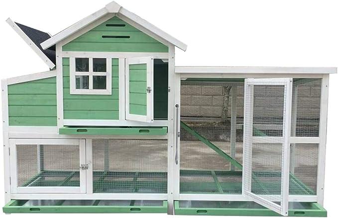 YCDJCS Grande y Pesado de la Paloma Jaula de cría de Madera Suministros Caja del Animal doméstico gallinero de Pollo al Aire Libre Jaula domésticos Gallineros y jaulas