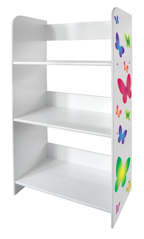 Tag Re De Rangement Pour Enfant Dessin Papillons Biblioth Que  # Bibliotheque Meuble Dessin
