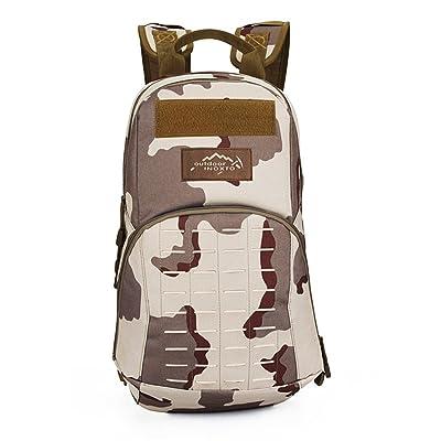 Sac à dos d'alpinisme imperméable multifonctionnel extérieur de sac à dos multifonctionnel de sac à dos de trekking de poche