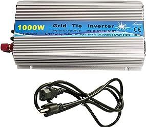 iMeshbean 1000W 110V Grid Tie Inverter 22V ~ 50V DC Input for 24V / 36V Solar