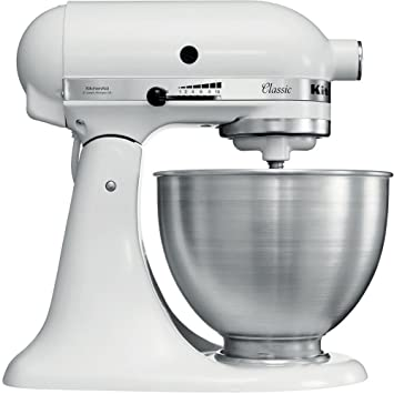 Amazon.de: KitchenAid Küchenmaschine K45SSEWH Classic, Weiß