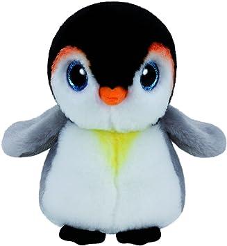 Ty - Beanie Babies Pongo, pingüino, 40 cm (United Labels Ibérica 96301TY)