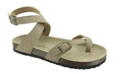 644fa2992d78d Amazon.com | Pierre Dumas Outwoods Women's Bork-39 Ankle Strap Sandal |  Sandals