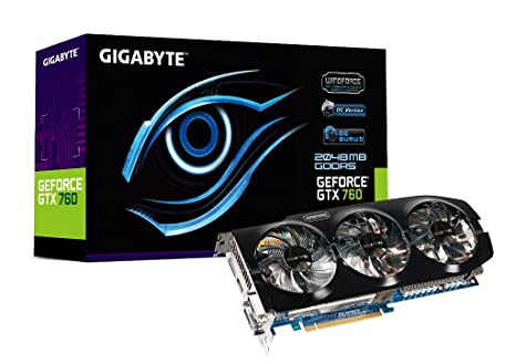 Gigabyte N760OC-2GD - Tarjeta gráfica (2 GB GDDR5, PCI ...