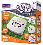 Perfect Craft Cast & Paint Stepping Stone Kit with Perfect Cast Casting Material