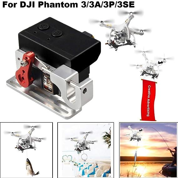 CHshe®-Kit de Dispositivo de Caída, Drone Clip Payload Delivery ...