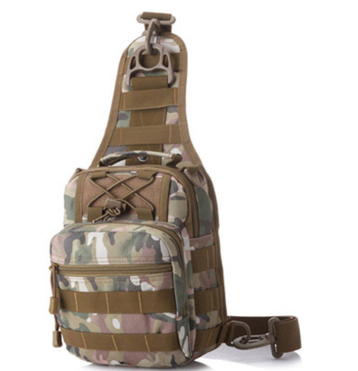 BULAGE Taschen Männer Multi-funktionale Im Freien Bergsteigen Trekking Reisen Tarnung Schulter Tasche Wasserdicht Nylon Mannbeutel Tragbar