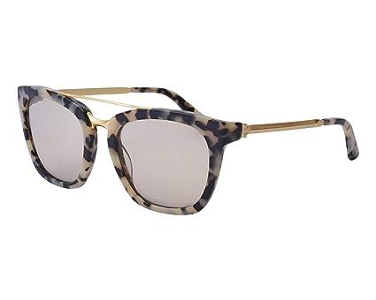 aba7dcccba Amazon.com  Calvin Klein Acetate Frame Grey Lens Ladies Sunglasses ...