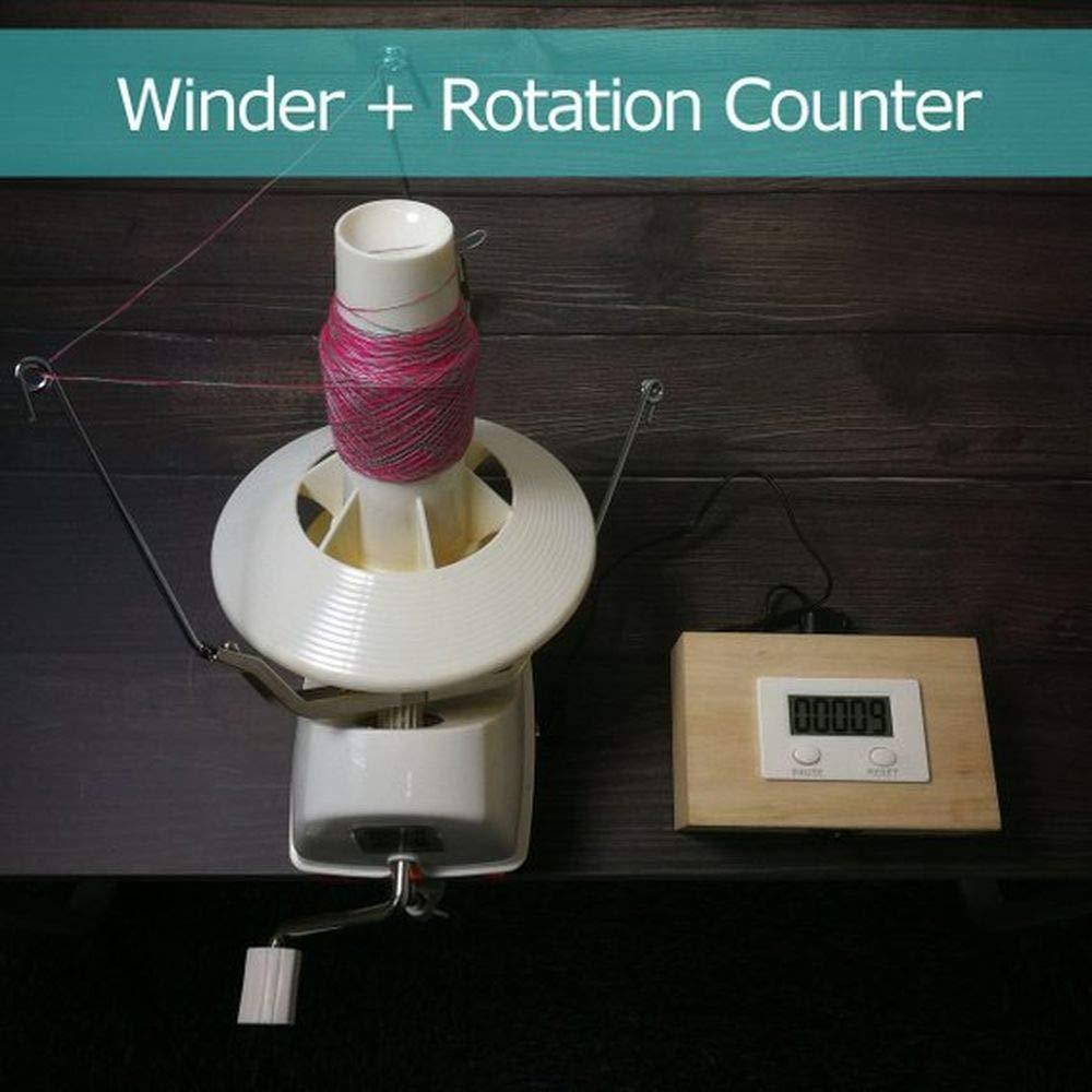 L2 Jumbo Yarn Ball Winder with Electric Rotation Counter
