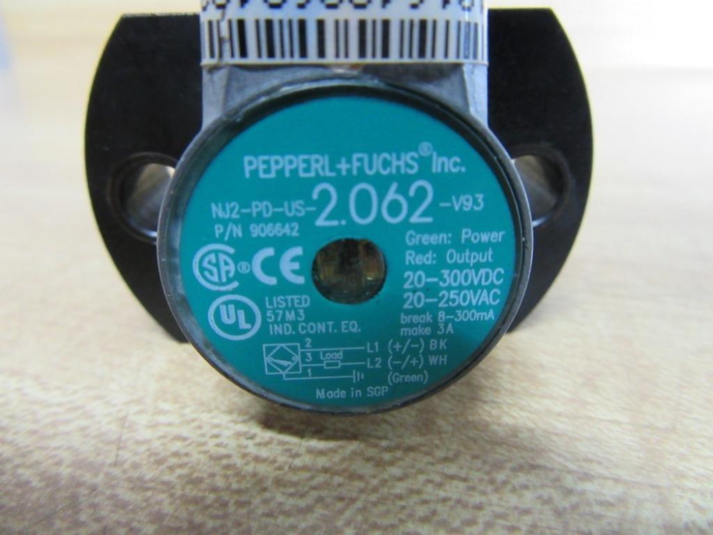 Inductive Proximity Sensor, Comfort Series, 2 mm, Cylindrical, SPST ...