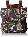 Sakroots Lunch Bag Sakroots Flap Lunch Box Blue Steel