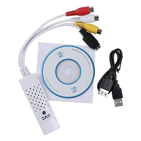 Semoic Sintonizador de TV USB 2.0 Tarjeta de Captura de ...