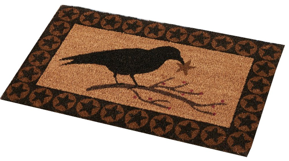 Park Designs Crow Star Doormat 364-27