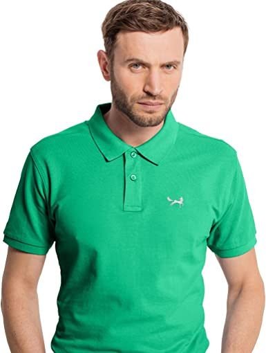 Asquith & Fox - Polo - para Hombre Verde Kelly XXX-Large: Amazon ...