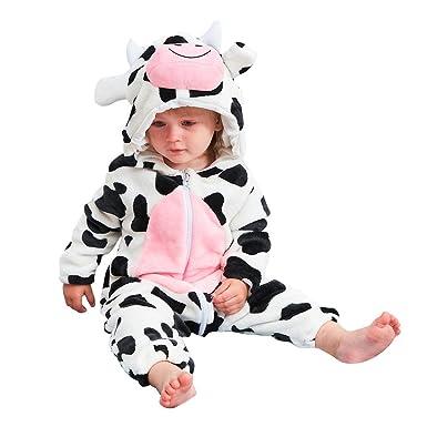 3b3bf8f623c1 Amazon.com  Cartoon Animals Baby Boys Girls Pyjamas Kids Toddlers ...