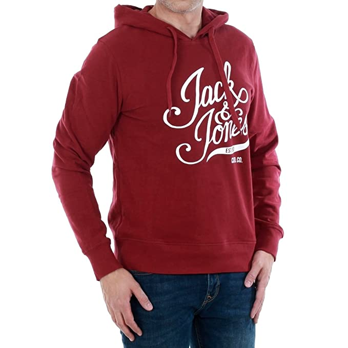 Jack   Jones Originals Blogger Sweat Hooded  Amazon.de  Sport   Freizeit 5bed2b6705