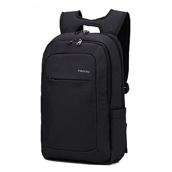 yacn ligero Business ordenador portátil mochila para - Ajuste de hasta 15,6 portátil, color negro 39,62 cm: Amazon.es: Oficina y papelería