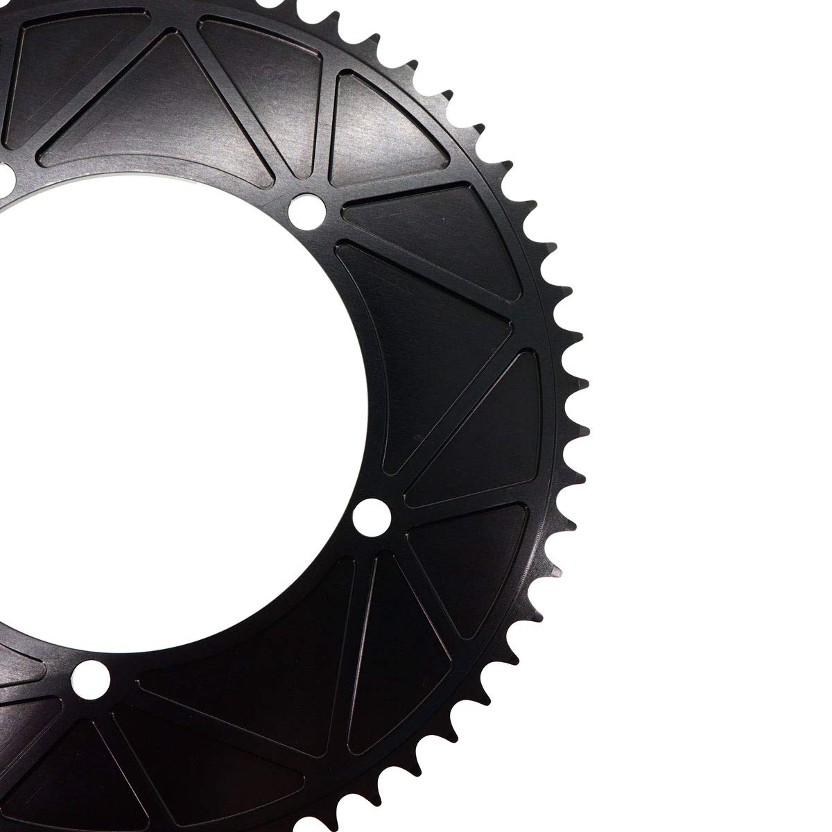 Stone Track Chainring 144 BCD 1//8 Fixie Single Speed BMX 42-60T